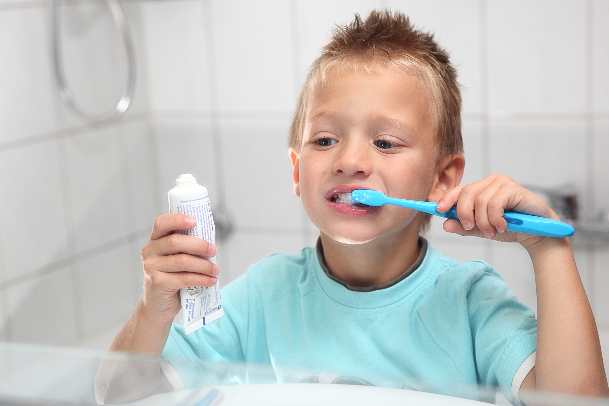 Hygiène bucco-dentaire des enfants